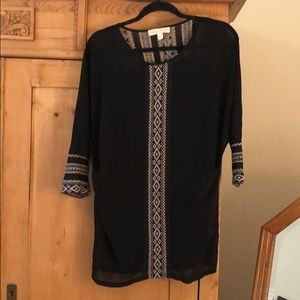 Black Tunic - Urban Outfitters